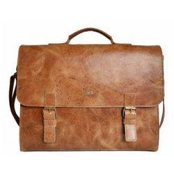 4847e622e5da0 JAZZY WANTED 94 torba teczka na ramię skóra naturalna firmy DAAG z miejscem  na laptopa/