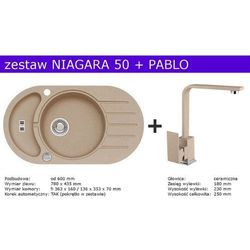 Zestaw ALVEUS NIAGARA 50 + PABLO (kolor BEŻOWY)