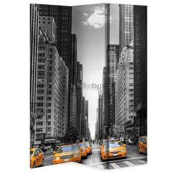 New York Taxi, Parawan jednostronny na płótnie - Canvas - Jednostronny