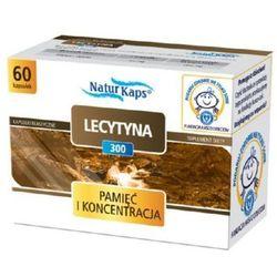 Naturkaps Lecytyna 300 kaps. 0,3 g 60 kaps.