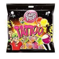 Lizaki Gum Pop Tattoo (8 sztuk)