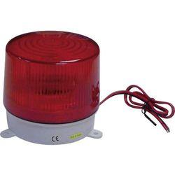Lampa stroboskopowa,752240, wewnętrzna i zewnętrzna, 6 - 12 V/DC, czerwona