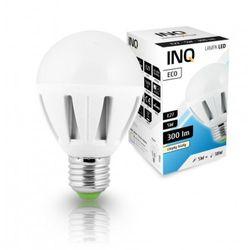LED P45 E27 Eco 5W ciepło-biała - żarówka kulka LED INQ