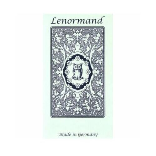 Karty Tarot Mlle Lenormand Blue Owl GB