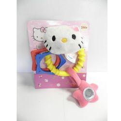 Grzechotka maskotka Hello Kitty