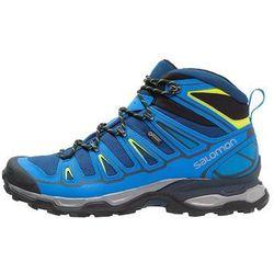 Salomon XULTRA MID 2 GTX Buty trekkingowe blue depth/union blue/gecko green