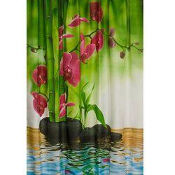 Zasłona prysznicowa Storczyk Estiva, 180x200 cm