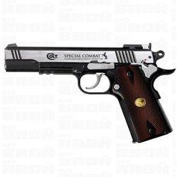 Wiatrówka - Pistolet COLT Special Combat Classic Imitacja DREWNA