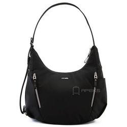 880a398748bf7 Pacsafe Stylesafe Convertible Crossbody torebka damska antykradzieżowa na  ramię   czarna - Black