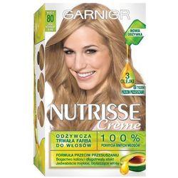 GARNIER Nutrisse Creme 80 Jasny naturalny blond Farba do włosów