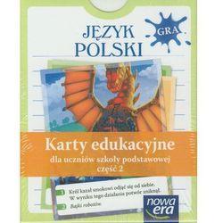Jezyk Polski Karty Edukacyjne Część 2 (opr. kartonowa)