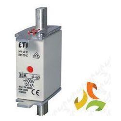 Bezpiecznik, wkładka topikowa zwłoczna BM WT-00C gG 125A 500V KOMBI 004181215 ETI