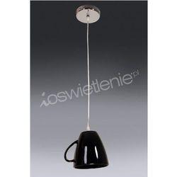 TEA TIME 1pł zwis czarny - żyrandol/lampa wisząca