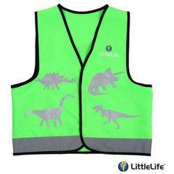 LIFEMARQUE LittleLife Kamizelka odblaskowa Dinozaur - rozmiar M