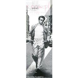 James Dean Spacer z Papierosem - plakat
