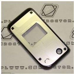 Obudowa Nokia 7270 przednia srebrna