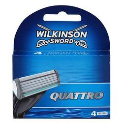 Wilkinson Sword Quattro zapasowe ostrza 4 szt. + do każdego zamówienia upominek.