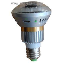Mini kamera ukryta w żarówce LED E27, detekcja ruchu