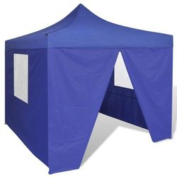 vidaXL Namiot ogrodowy pawilon 3 x m niebieski Darmowa wysyłka i zwroty