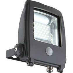 Zewnętrzna LAMPA ścienna PROJECTEUR I 34219S Globo ruchomy PROJEKTOR LED IP65 outdoor z czujnikiem ruchu ciemnoszary