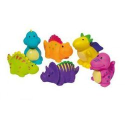 GOKI Dinozaur do kąpieli FIOLETOWY