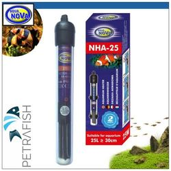Aqua Nova NHA-200, 200W - Grzałka z termostatem akwariowa