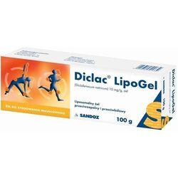 Diclac Lipogel żel 0,01 g/g 100 g (tuba)