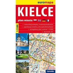 Kielce. Plan miasta 1:15 000