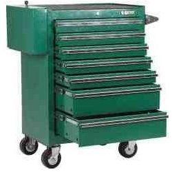 SATA wózek warsztatowy z 8 szufladami z drewnianym blatem bez wyposażenia 95109 (ZNALAZŁEŚ TANIEJ - NEGOCJUJ CENĘ !!!)