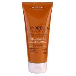 Dermedic Sunbrella Sensitive krem samoopalający do ciała i twarzy + do każdego zamówienia upominek.