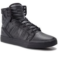 Sneakersy SUPRA - Skytop 08003-081-M Black/Black/Red