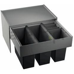 Sortownik odpadów, kosz na śmieci, poczwórny BLANCO SELECT 60/4 (520781)