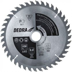 Tarcza do cięcia DEDRA H20560E 205 x 16 mm do drewna HM