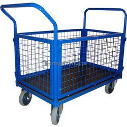 Wózek platformowy osiatkowany. Wym. 1200x700mm (Ładowność: 600kg)