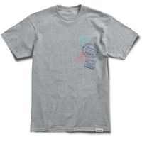 koszulka DIAMOND - Passport S/S Tee Heather Grey (HTGR)