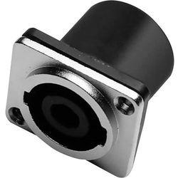 Panel gniazd głośnikowych typu jack SPK 4-pin, niklowany