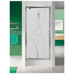 SANPLAST drzwi Tx 5 80 otwierane, szkło CR DJ/TX5b-80 600-271-1030-38-371