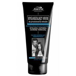 Joanna Professional Smoothing Cream For Hair Straightening 200 g Wygładzający Krem Do Prostowania Włosów Naturalny