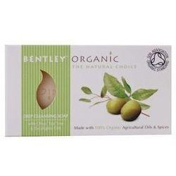 Bentley Organic głęboko oczyszczające mydło z oliwek, olejku herbacianego i eukaliptusa 150 g
