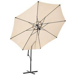 Malatec Parasol ogrodowy 3m 8-żebrowy - beżowy