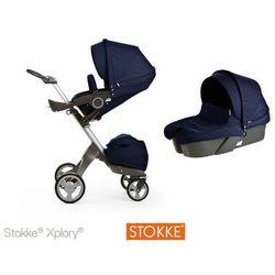 Stokke ® Xplory Głęboko-Spacerowy Deep Blu