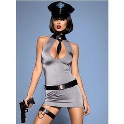 Police dress kostium XXL