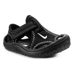 Sandały NIKE - Sunray Protect (TD) 344925 011 Black/White/Dark Grey