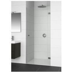 RIHO ARTIC A101 Drzwi prysznicowe 90x200 LEWE, szkło transparentne EasyClean GA0001201