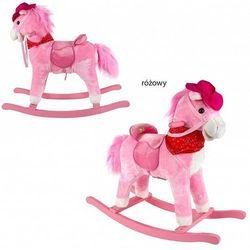Koń na biegunach KINDERKRAFT wydający dzwięk różowy + DARMOWY TRANSPORT!