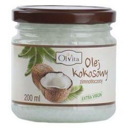 Olej kokosowy w opakowaniach 200 ml OlVita
