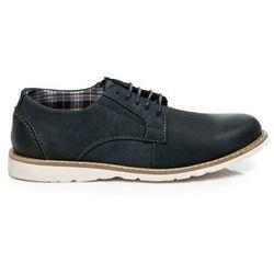 Męskie buty skórzane