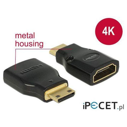Adapter HDMI (F) -> mini HDMI-C (M) 4K Delock