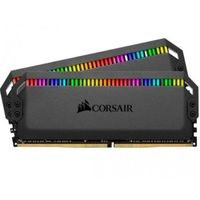 Corsair pamięć ddr4 dominator platinum rgb 16gb/3200(2x8gb) black cl16