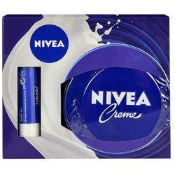 Nivea Nivea Creme And Labello Classic Care U Kosmetyki Zestaw kosmetyków 250ml Nivea Creme + 5,5ml Labello Classic Care